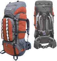 Рюкзак туристический Terra Incognita Mountain 50 оранжевый/серый