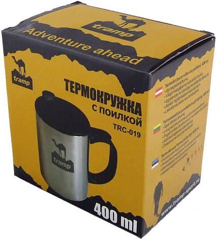 Термокружка 400мл с поилкой Tramp TRC-019, фото 2