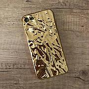 """Силіконовий чохол """"Tinfoil"""" для iPhone 6 plus / 6s plus Gold"""