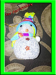 Игрушка Снеговик светящийся, разные размеры
