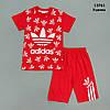 Летний костюм Adidas для мальчика. 4, 8 лет