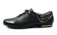 Черные кожаные кроссовки женские, подростковые TIMBERLAND , фото 1