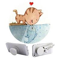 Универсальный держатель-подставка PopSockets - Kitty&Fish