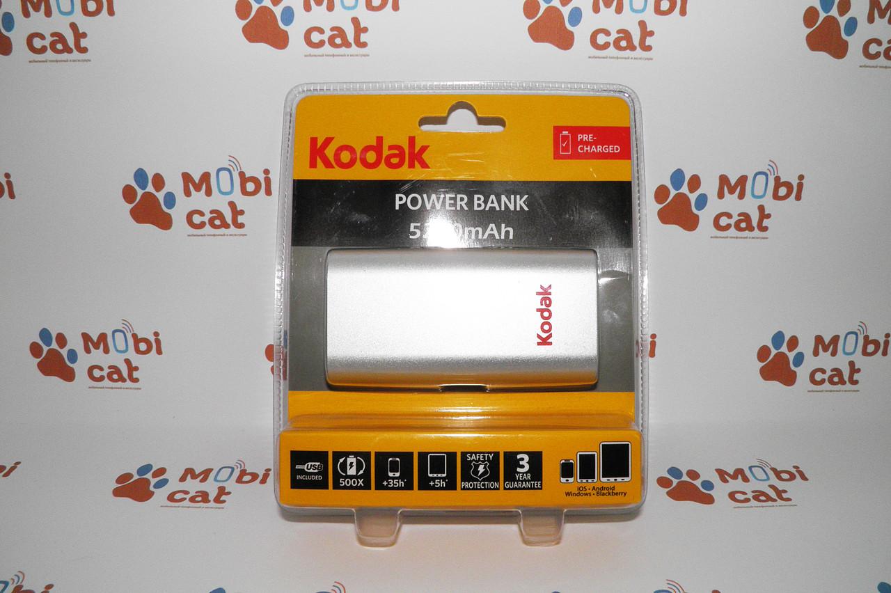 Внешний аккумулятор Power Bank Kodak 5200 mAh