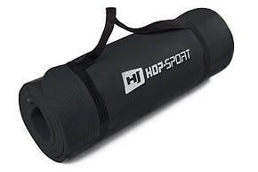 Мат для фитнеса HS-4264 1,5см black в дом и спортзал  , Львов, фото 2