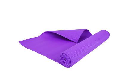 Мат тренировочный, фиолетовый, для дома и спортзала, Львов, фото 2