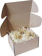 Подарочная коробочка с сеном большая, Ш200хД155хВ100мм