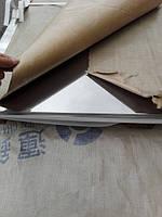 Лист нержавеющий для столешниц в современных кухонных интерьерах
