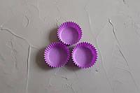 Бумажные одноразовые формочки для конфет, фиолетовый