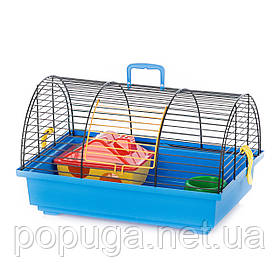 Клетка для грызунов, эмаль GRIM 1 EKO InterZoo 36*34*22 см