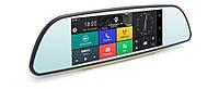 """Автомобильный Регистратор зеркало K35 7"""" сенсор, 2 камеры, GPS+ WiFi, 8Gb, Android, 3G, фото 1"""