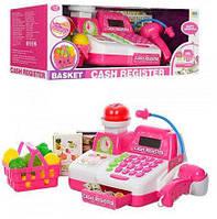 Кассовый аппарат детский 8343 (весы, сканер, свет, звук, продукты)