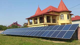 Сонячна електростанція 15кВт с. Новий Киселів 1