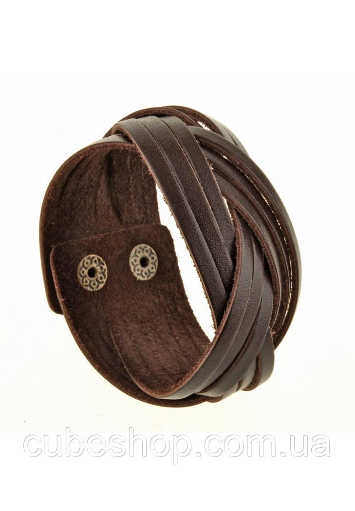 Браслет-косичка Шоколад