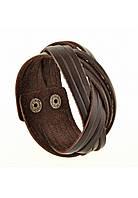 Браслет-косичка Шоколад, фото 1
