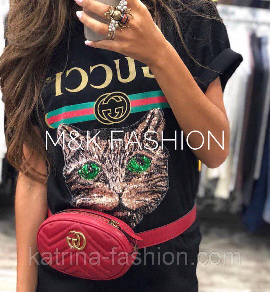 0aa0f2ce561e Женская стильная хлопковая футболка в стиле