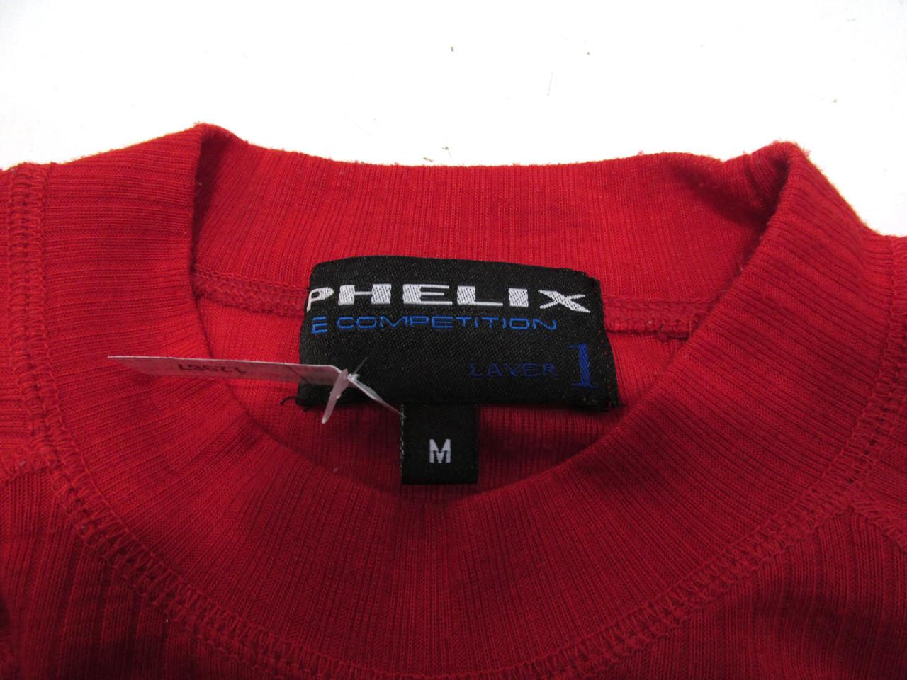 Термо кофта красная Phelix, М, Leyer 1, Хор сост! 7