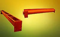 Шнек в лотке Ø 250 мм на 10500 мм.