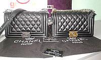 Сумка Chanel реплика кожаная люкс брендовая сумка