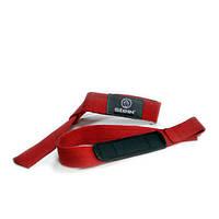 Лямки для тяги на запястья красные Stein SLN-2505 для дома и спортзала, Киев