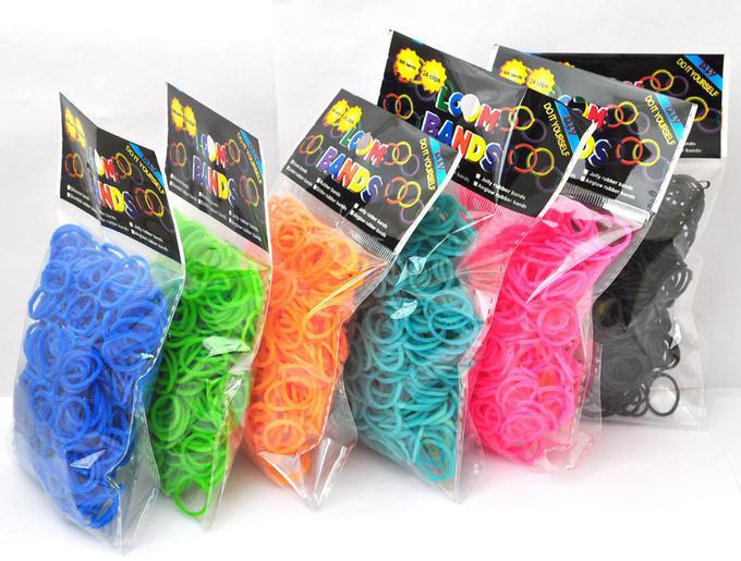 Резинки для плетения браслетов 200 штук