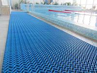 """Модульное покрытие """"Волна-10"""" для бассейнов, саун, душевых"""