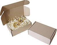 Подарочная коробка с сеном малая, Ш150хД100хВ50мм, фото 1