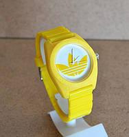Спортивные часы Adidas, Адидас желтые