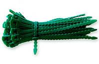 Подвязки для цветов, плетистых огурцов, винограда (Д-06), 100 шт