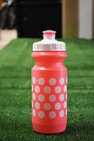 Фляга 600ml Green Cycle в горошек розовая, фото 1