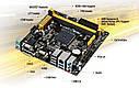 """Материнская плата Asus AM1I-A Socket AM1 APU DDR3 """"Over-Stock"""" Б/У, фото 2"""