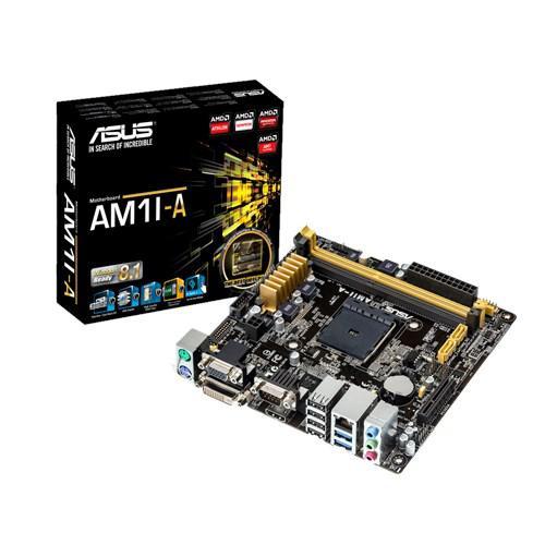 """Материнская плата Asus AM1I-A Socket AM1 APU DDR3 """"Over-Stock"""" Б/У"""
