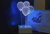 Ночник: воздушные шарики! Оригинальный светильник!, фото 1