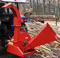Подрібнювач деревини Польща Cyklon-130 до трактора