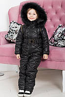 "Детский теплый комбинезон "" Kids Black "" Dress Code"