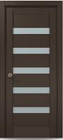 """Двери межкомнатные Папа карло """"Millenium ML-02"""" экошпон renolit  Дуб мокко"""