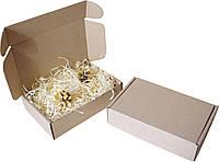 Подарочная коробочка с сеном малая, Ш180хД115хВ45мм