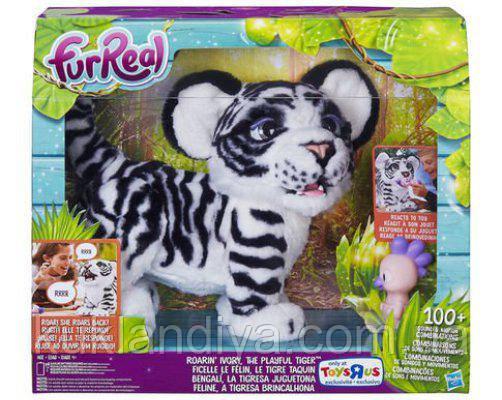 Інтерактивний Білий Тигр FurReal Roarin' Ivory, The Tiger Playful