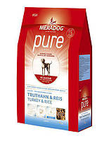 """Корм Meradog """"Pure Junior Truthahn & Reis"""" для щенков с индейкой и рисом 12,5 кг"""