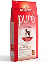 """Корм Meradog """"Pure Lachs & Reis"""" для взрослых собак с лососем и рисом 12,5кг"""
