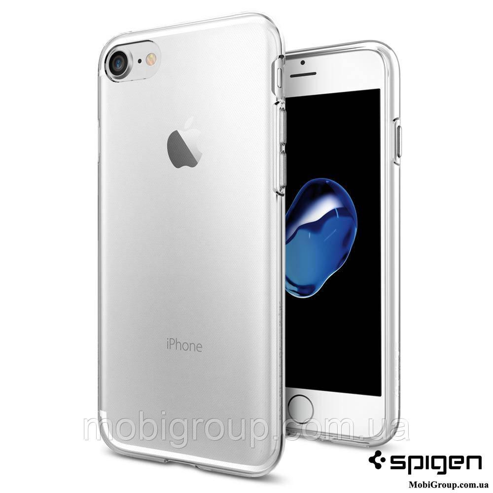Чехол Spigen для iPhone 8 / 7 Liquid Crystal, Crystal Clear