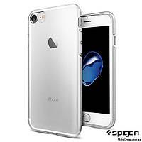 Чехол Spigen для iPhone 8 / 7 Liquid Crystal, Crystal Clear , фото 1