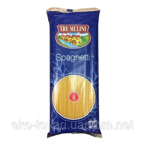 Макароны спагетти  tre mulini 8, 1 кг