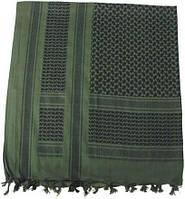 [Спец.ЦЕНА] Куфия (арафатка) 115x110см зелёно-чёрная MFH 16503B