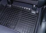 Килимки салона гумові Citroen Nemo, Peugeot Bipper, Fiat Fiorino (Qubo) 2008 ->, кт - 4шт, фото 3