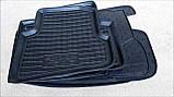 Килимки салона гумові Citroen Nemo, Peugeot Bipper, Fiat Fiorino (Qubo) 2008 ->, кт - 4шт, фото 4