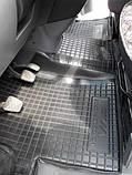 Килимки салона гумові Citroen Nemo, Peugeot Bipper, Fiat Fiorino (Qubo) 2008 ->, кт - 4шт, фото 9