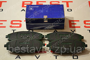 Колодки передние lanos/sens/matiz