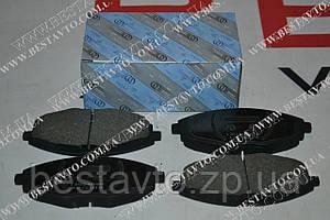 Колодки передні lanos/sens/matiz
