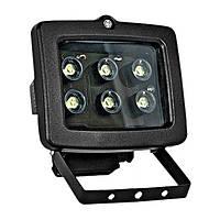 Прожектор светодиодный e.light.LED.150.6.6.6500.black 6Вт черный